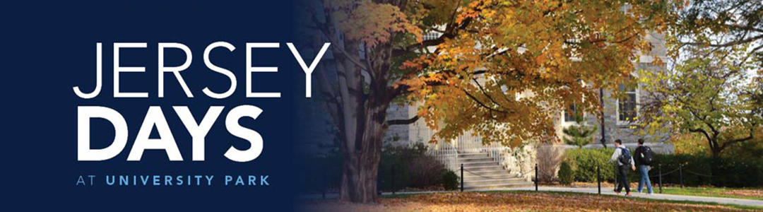 Penn State Jersey Days - University Park campus in the fall
